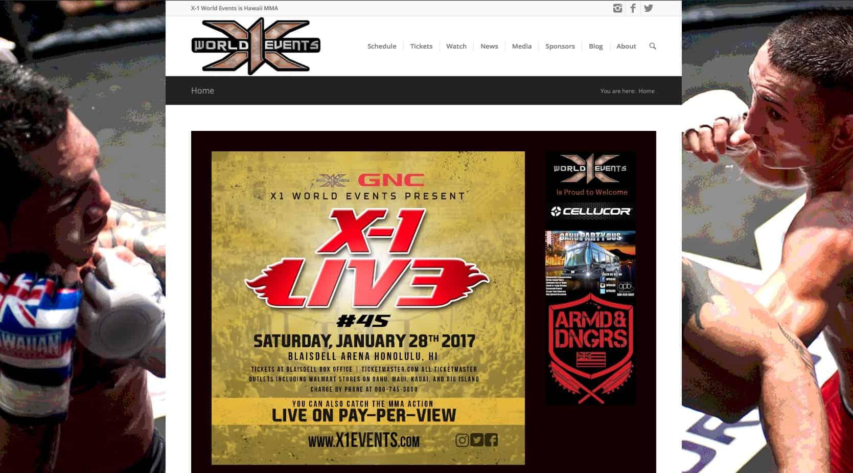 X1 World Events MMA